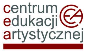 logotyp centrum edukacji artystycznej